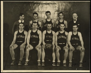 Photograph [realia], 1931 boys basketball