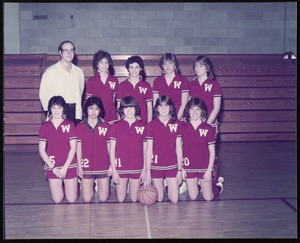 Photograph [realia], girls basketball