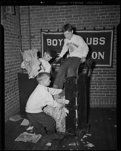 Boys' Club, waste paper