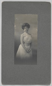Newton High School Class of 1900 yearbook pictures plus reunion biographies, 1900 - - Barbara Knight -