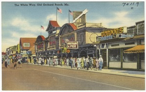 The White Way, Old Orchard Beach, Me.
