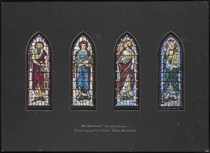 """The Patriarchs"" clerestory windows, Second Congregational Church, Holyoke, Massachusetts"