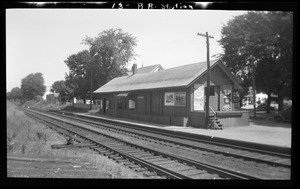 13 West St RR station