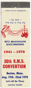 30th R.M.S. convention, 1941 - 1970