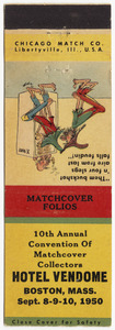 10th Annual Convention of Matchcover Collectors