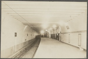 Boston Elevated Railway. Milk Street Station