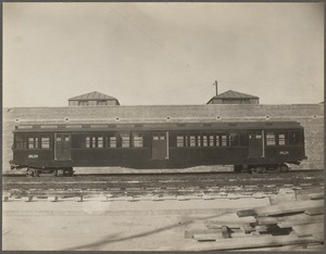 Boston Elevated Railway. Equipment. Cambridge subway car