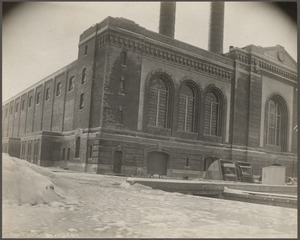 Boston Elevated Railroad. South Boston power station