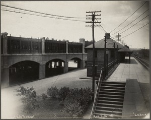 Boston Elevated Railroad. Forest Hills Station