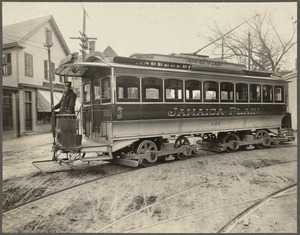 Boston Elevated Railway. Equipment. 25-foot surface car