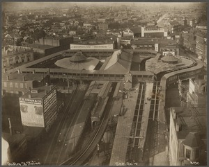 Boston Elevated Railroad. Dudley Street Station