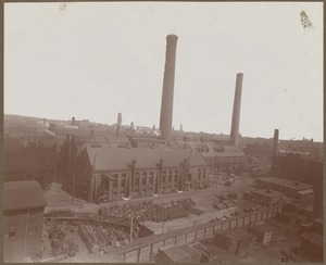 Boston Elevated Railway. Central Power Station