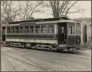Boston Elevated Railway. Equipment. Car