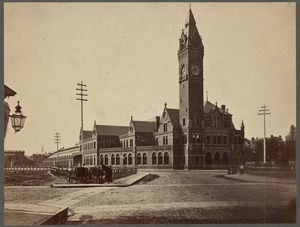 Boston and Providence Railroad, Providence Station, Park Square