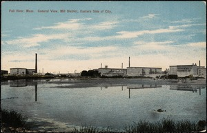 Fall River, Mass. General view, mill district, eastern side of city