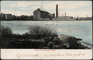Chace Mills, Fall River, Mass.