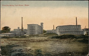 Cranite Mills, Fall River, Mass.