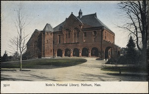 Nevin's Memorial Library, Methuen, Mass.