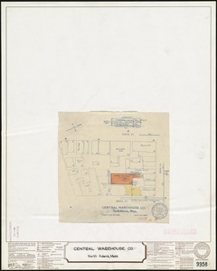 Central Warehouse Co., North Adams, Mass. [insurance map]