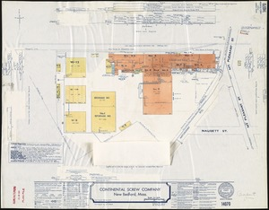 Continental Screw Company, New Bedford, Mass. [insurance map]