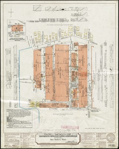 Dartmouth Manufacturing Corporation (Cotton Mill), New Bedford, Mass. [insurance map]