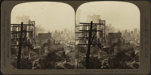 The Great Baltimore Fire -- on Fayette Street, near Charles, looking S. E., Baltimore St., Baltimore, Md.