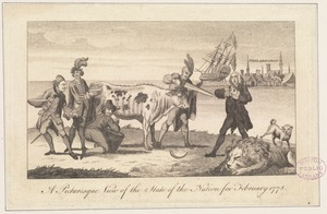 A picturesque view of the state of the nation for February 1778