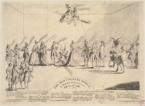 The new country dance, as dance at C****. July the 30th, 1766