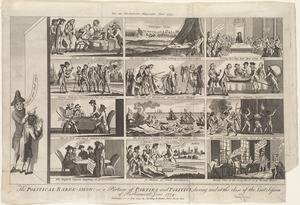 The political raree-show: or a picture of parties and politics, during and at the close of the last session of Parliament, June 1779