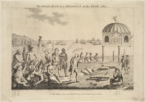 The royal hunt, or a prospect of the year 1782