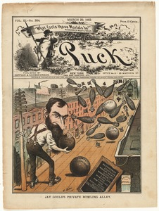 Jay Gould's private bowling alley