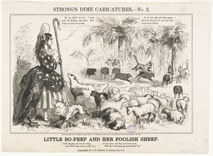 Little Bo-Peep and her foolish sheep