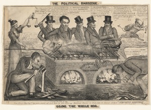 The political barbecue. Going the whole hog.