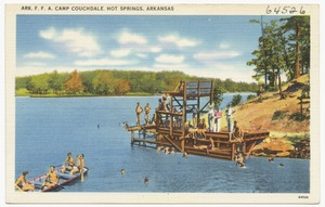 Ark. F.F.A. Camp Couchdale, Hot Springs, Arkansas
