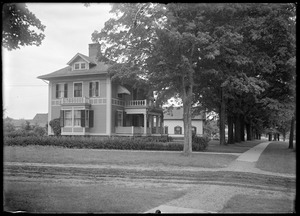 Hibbard house and front walk