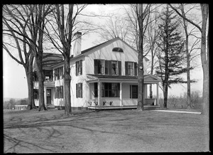 George Russell's (Newell place) Longmeadow St.