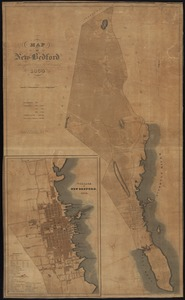 Map of New Bedford