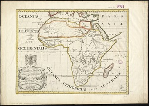 A new map of Libya or old Africk shewing its general divisions, most remarkable countries or people, cities, townes, rivers, mountains &c