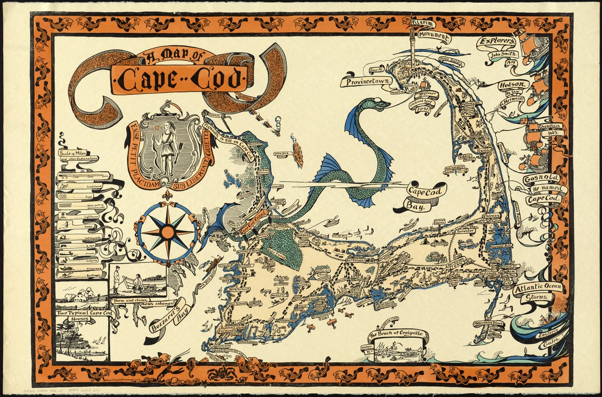 A map of Cape Cod - Norman B. Leventhal Map & Education Center