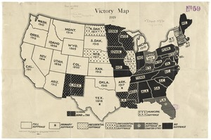 Victory map 1919