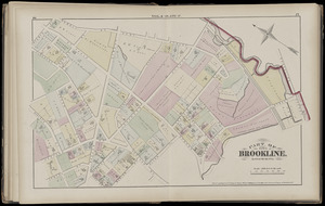 Atlas of the town of Brookline, Massachusetts