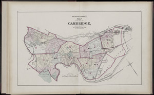 Atlas of the city of Cambridge, Middlesex Co., Massachusetts
