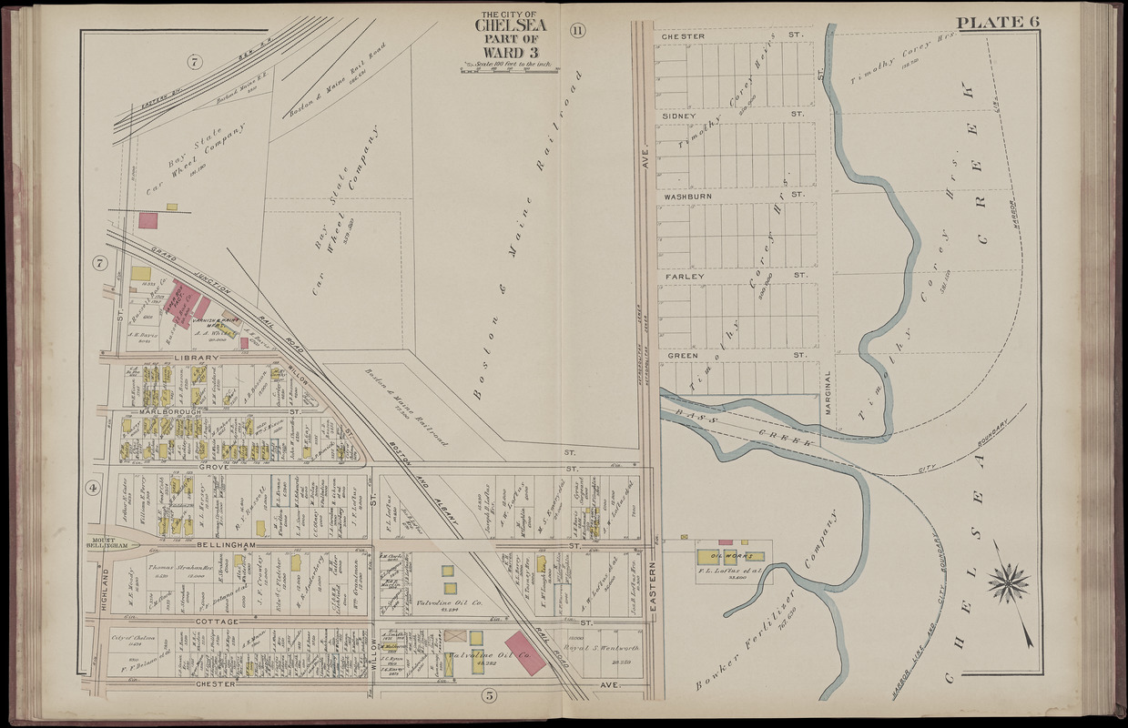 Atlas of the city of Chelsea and the towns of Revere & Winthrop, Massachusetts