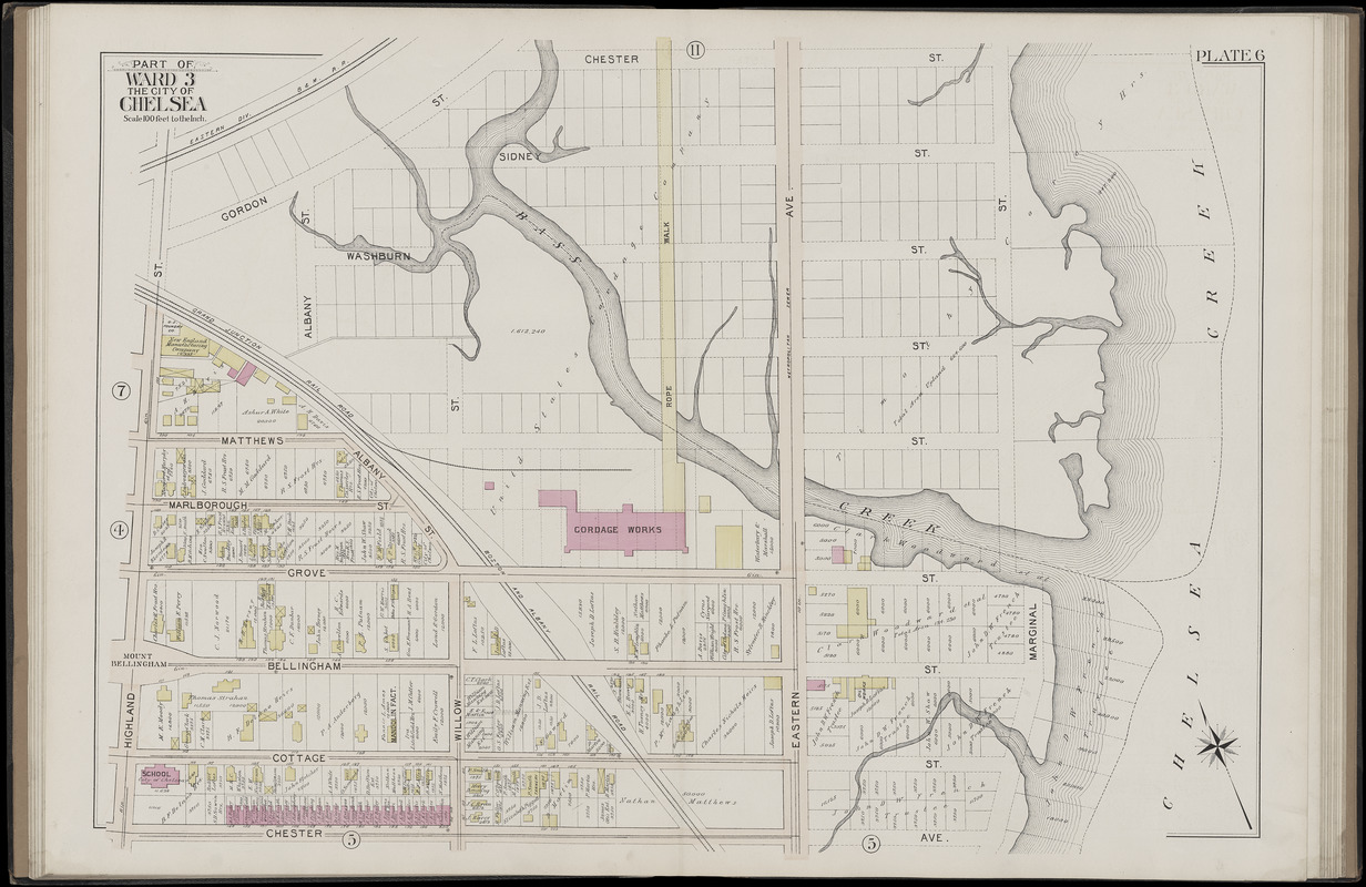 Atlas of the city of Chelsea and the towns of Revere ... on