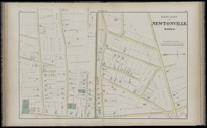 Atlas of the city of Newton, Middlesex Co., Massachusetts