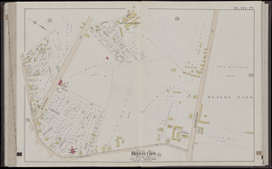 Atlas of the city of Boston, volume seven, Brighton, Mass.