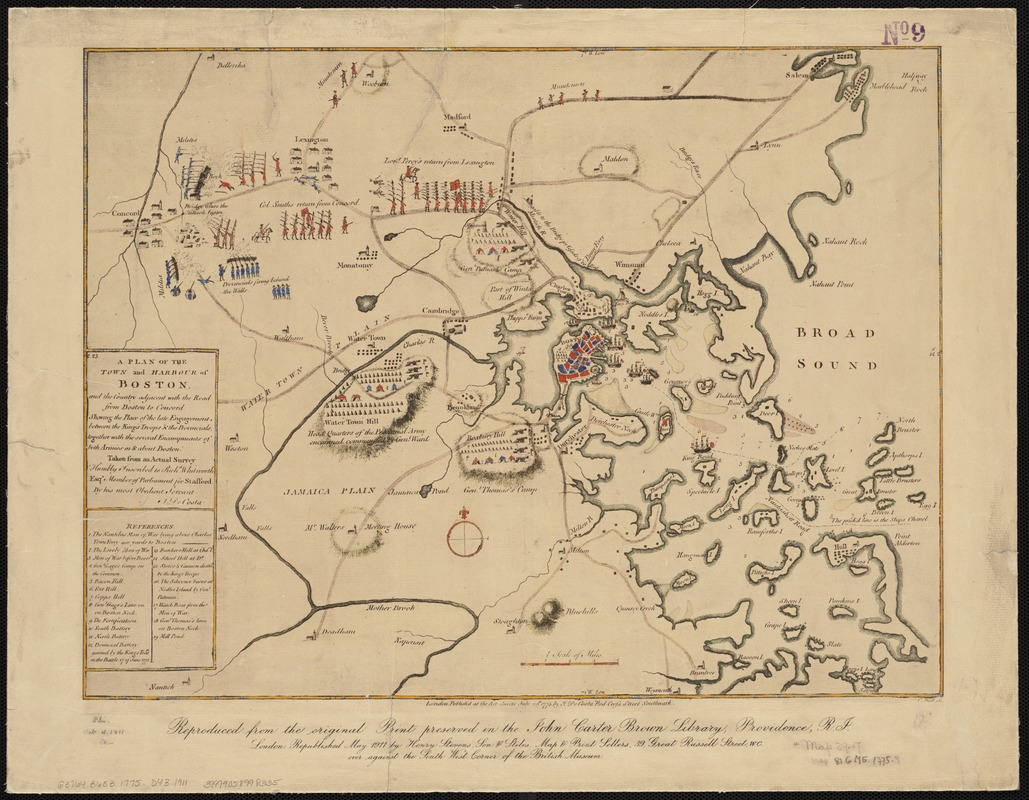 Old Maps of Boston and New England [Activity]