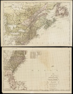 A new map of the British colonies in North America, shewing the seat of the present war, taken from the best surveys, compared with and improved from manuscripts of several noblemen and gentlemen