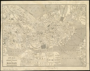 New map of the central portion of Boston