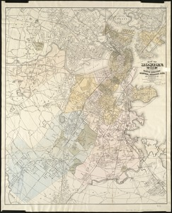 Map of Boston, for 1887